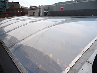 ETFE panels for architecture